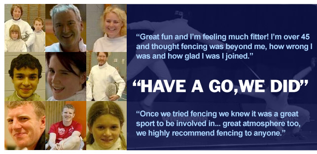 Salle Kiss Fencing Club - Have a Go!